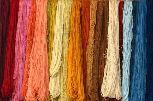 다채로운, 실, 옷감의 무료 스톡 사진