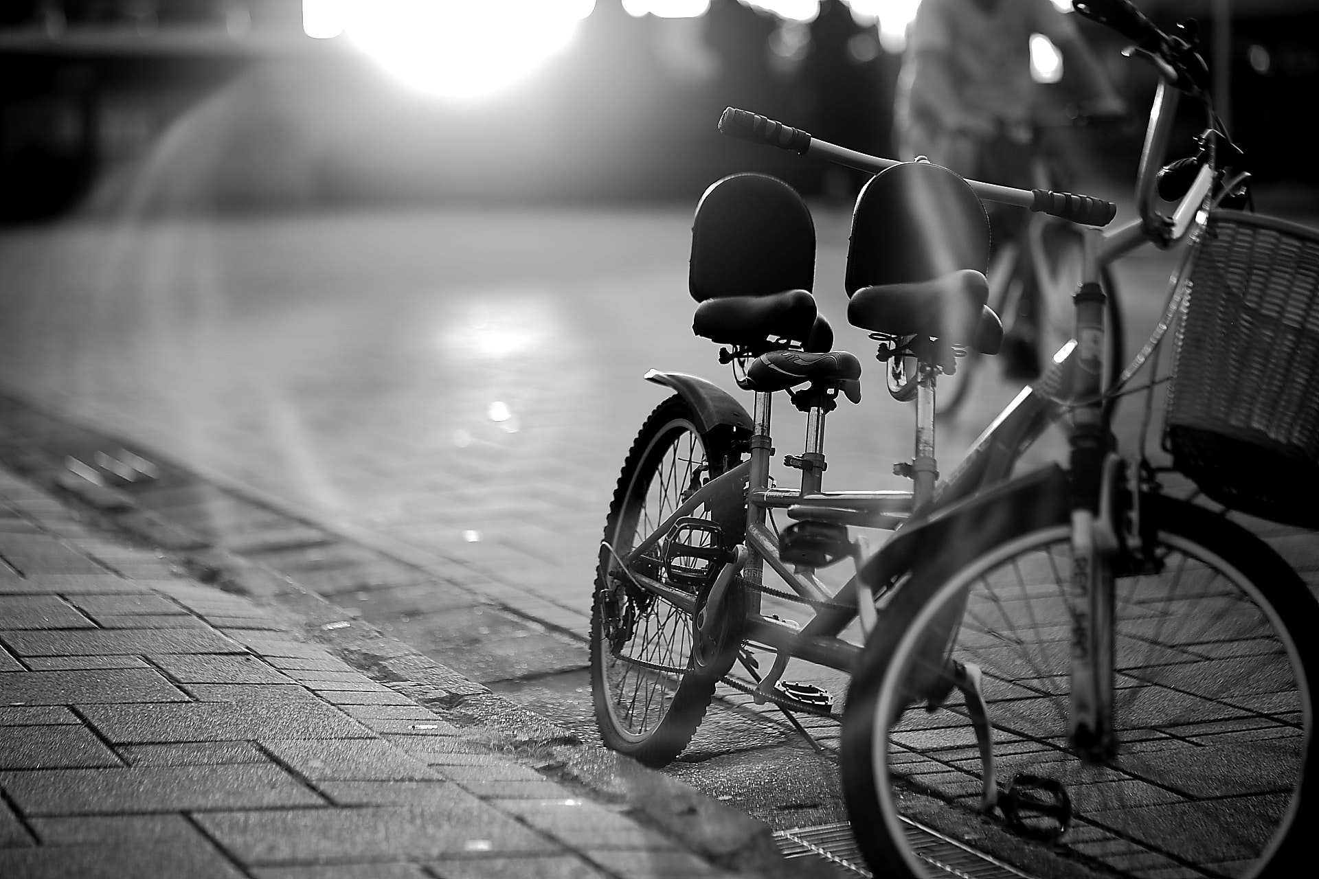 Grayscale Photography of Bicycle · Free Stock Photo