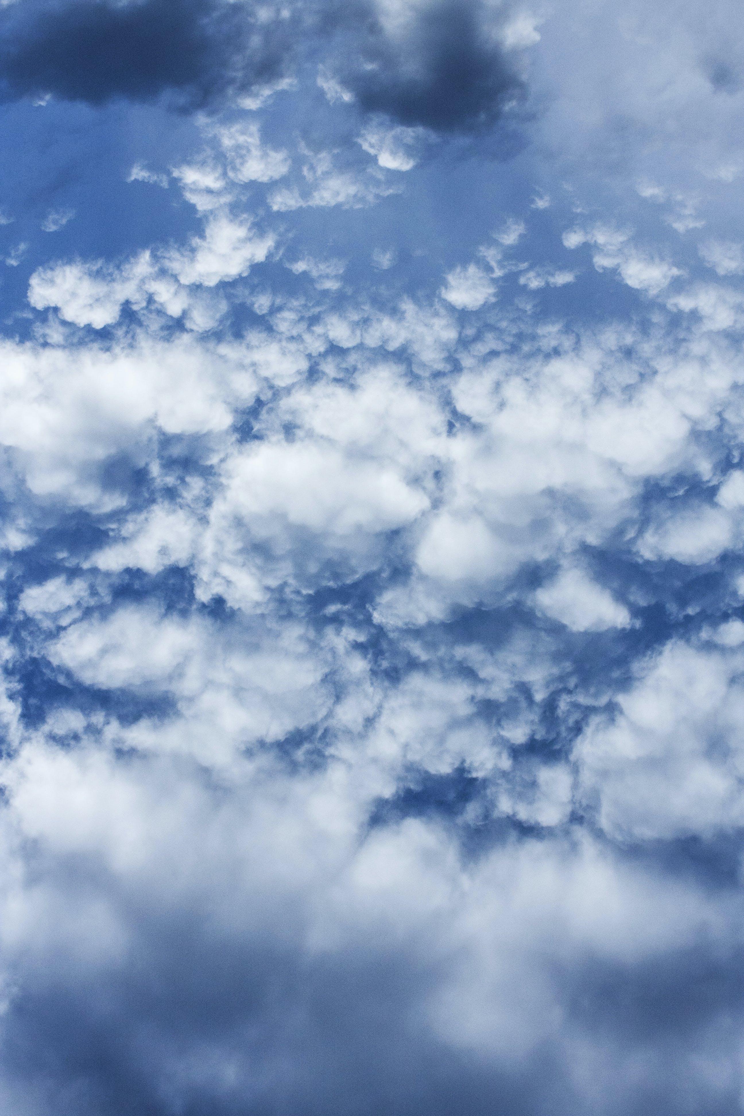 Kostenloses Stock Foto zu atmosphäre, blauer himmel, himmel, hintergrund