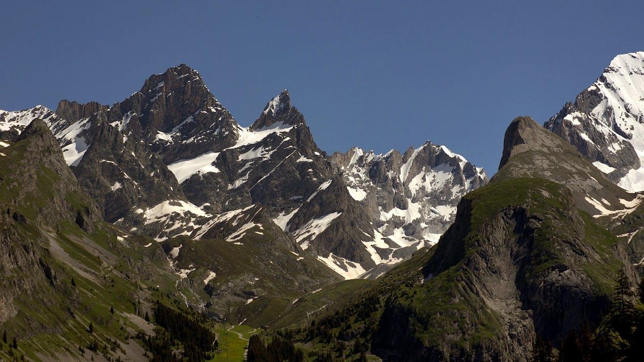 iarnă, munte, munte stâncos