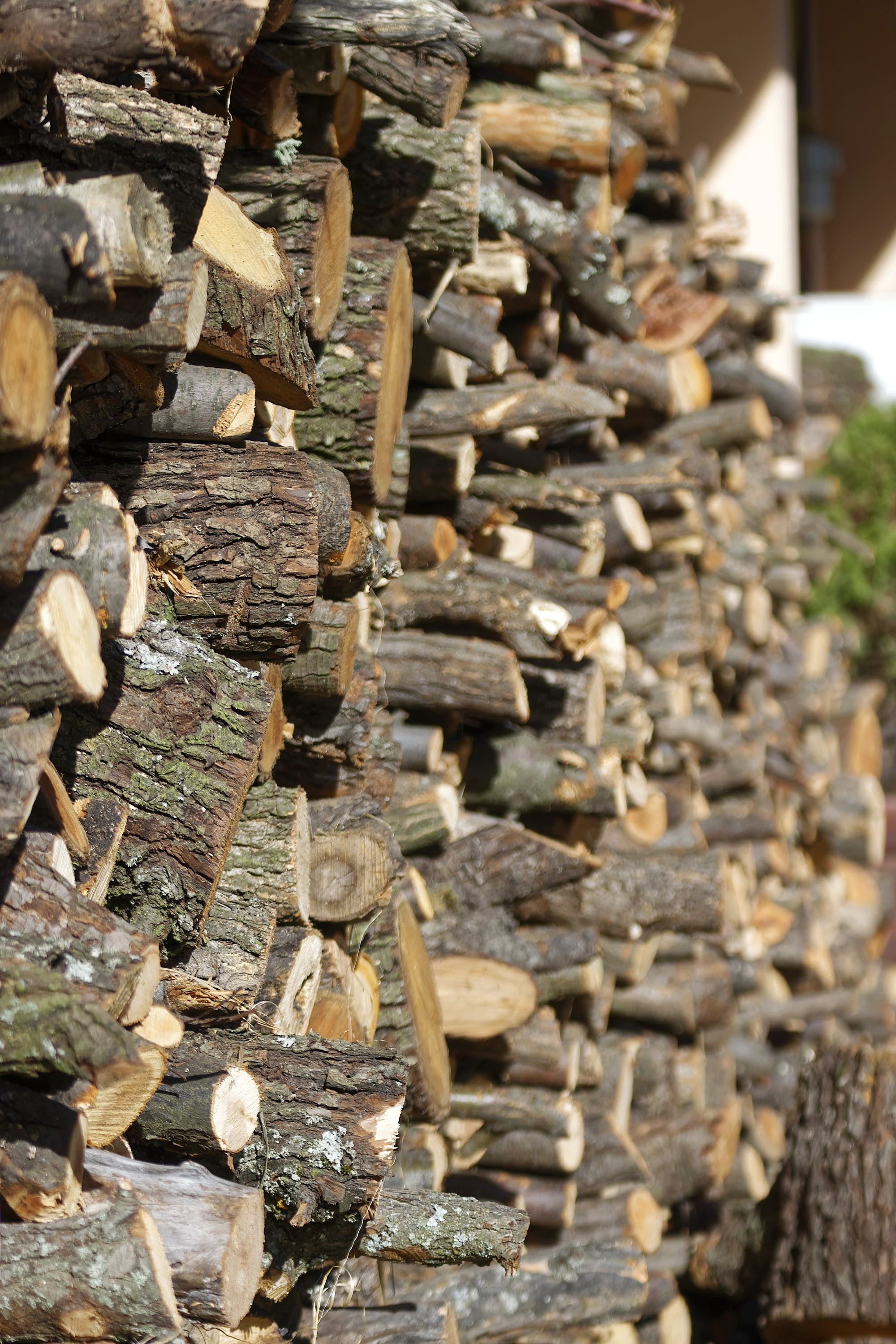 Free stock photo of arranged, wood cut for fire, wood stock