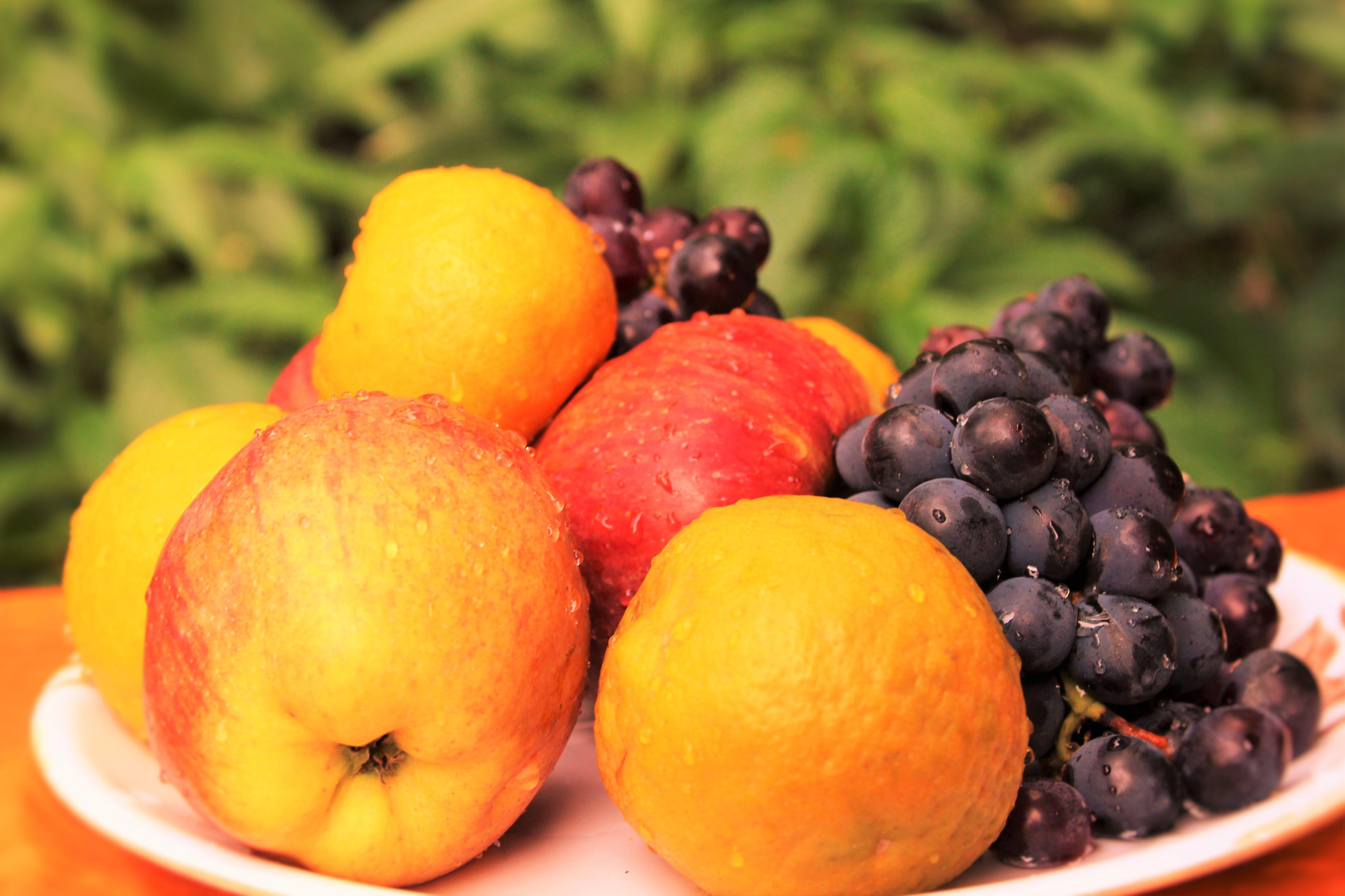 Free stock photo of christmas fruit, fruits, grapes, mixed fruits