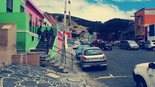 Foto stok gratis afrika selatan, bo kaap, bo-kaap, bukit sinyal