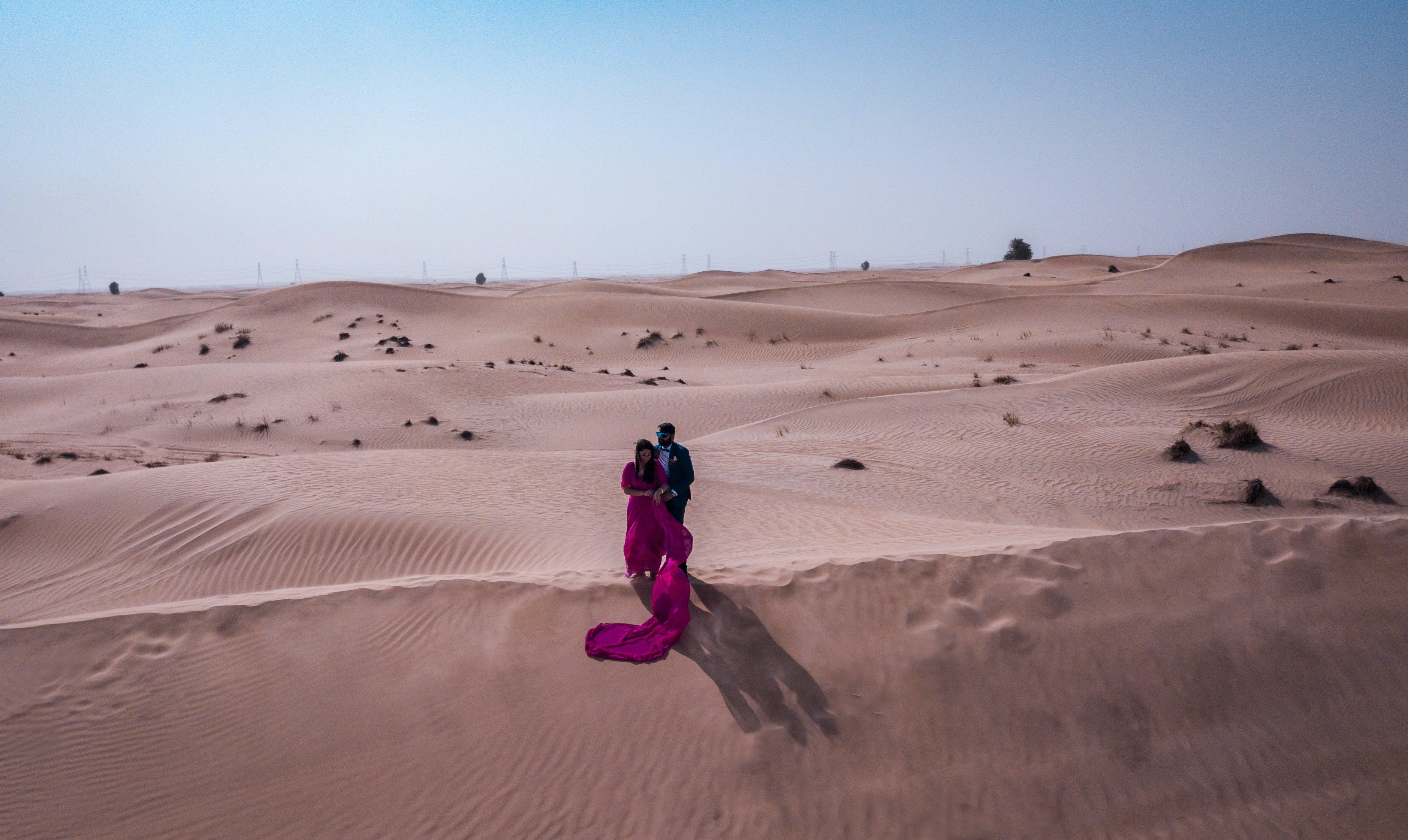 Photo of People On Desert