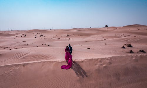Photo of People On Desert