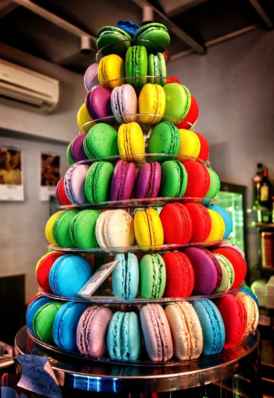 Kostenloses Stock Foto zu bunt, dessert, essen, süßigkeiten