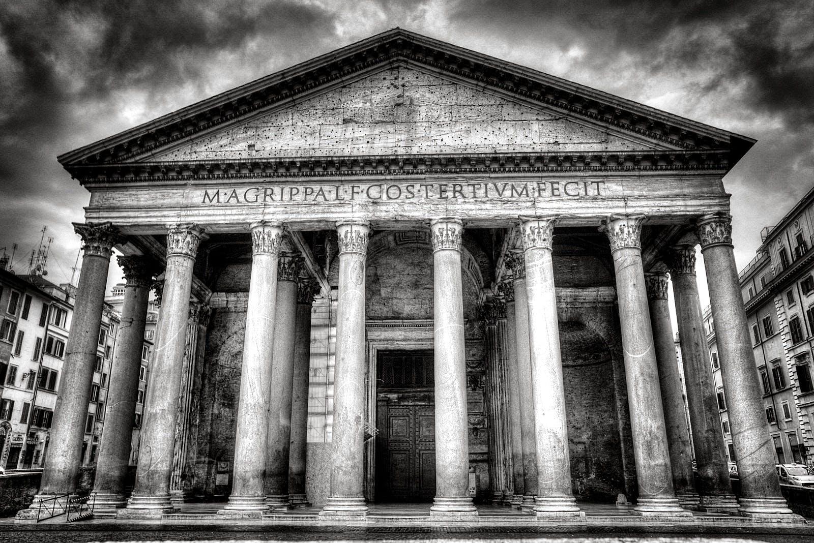 Foto stok gratis Arsitektur, bangunan, hitam & putih, itali