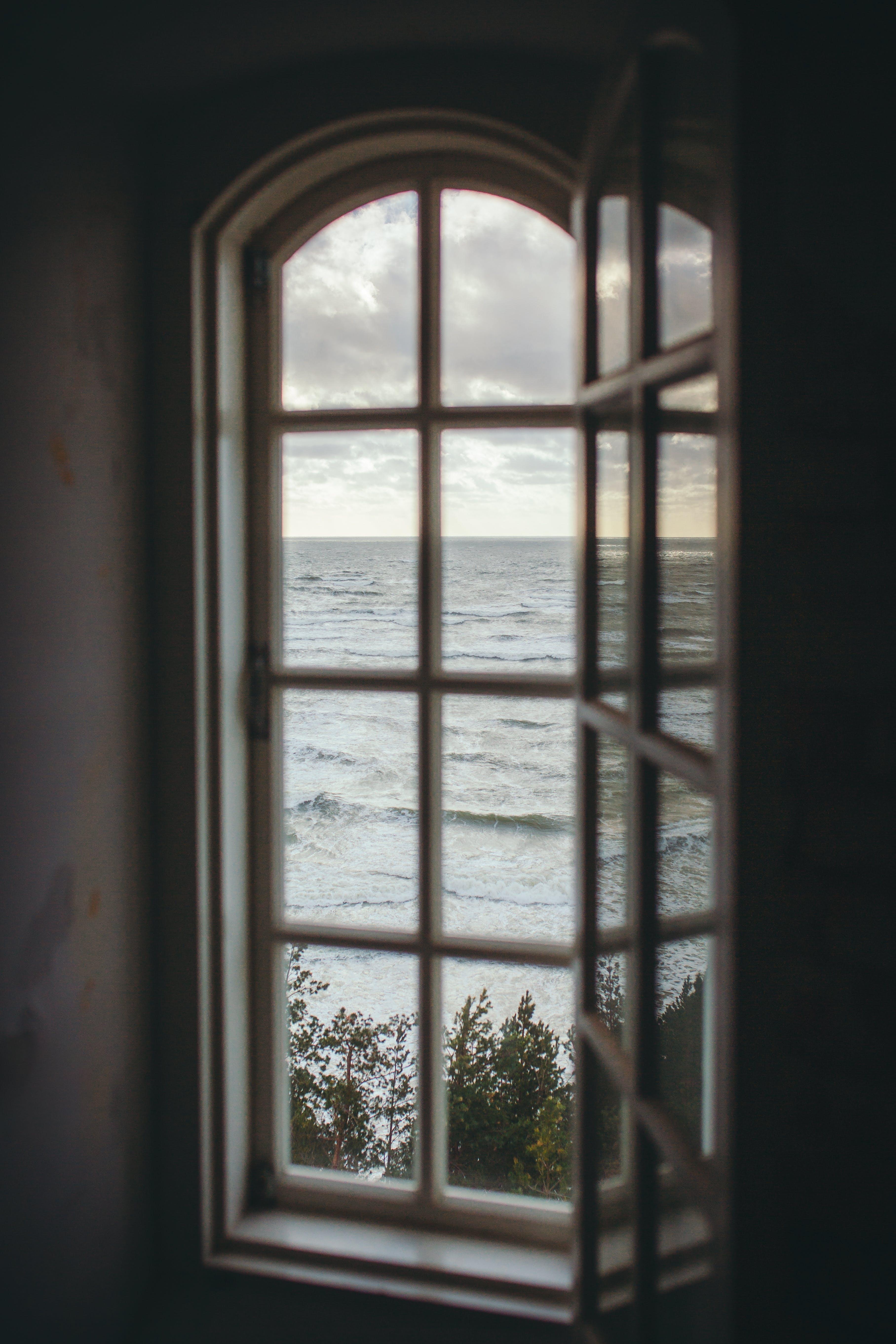 Free stock photo of artistic photo, Baltic Sea, horizon, lighthouse