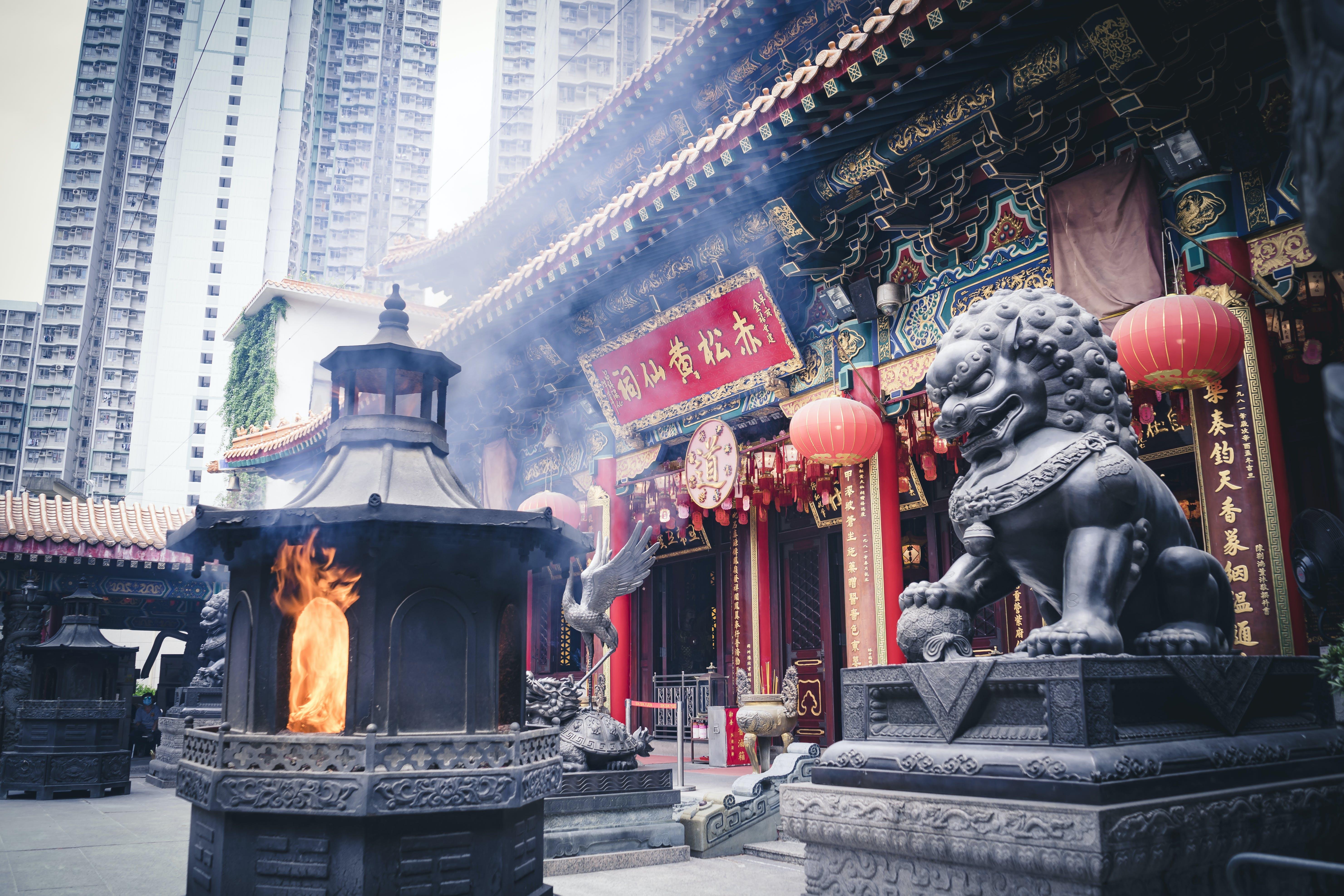 Free stock photo of architect, architectural design, burning, Chinese