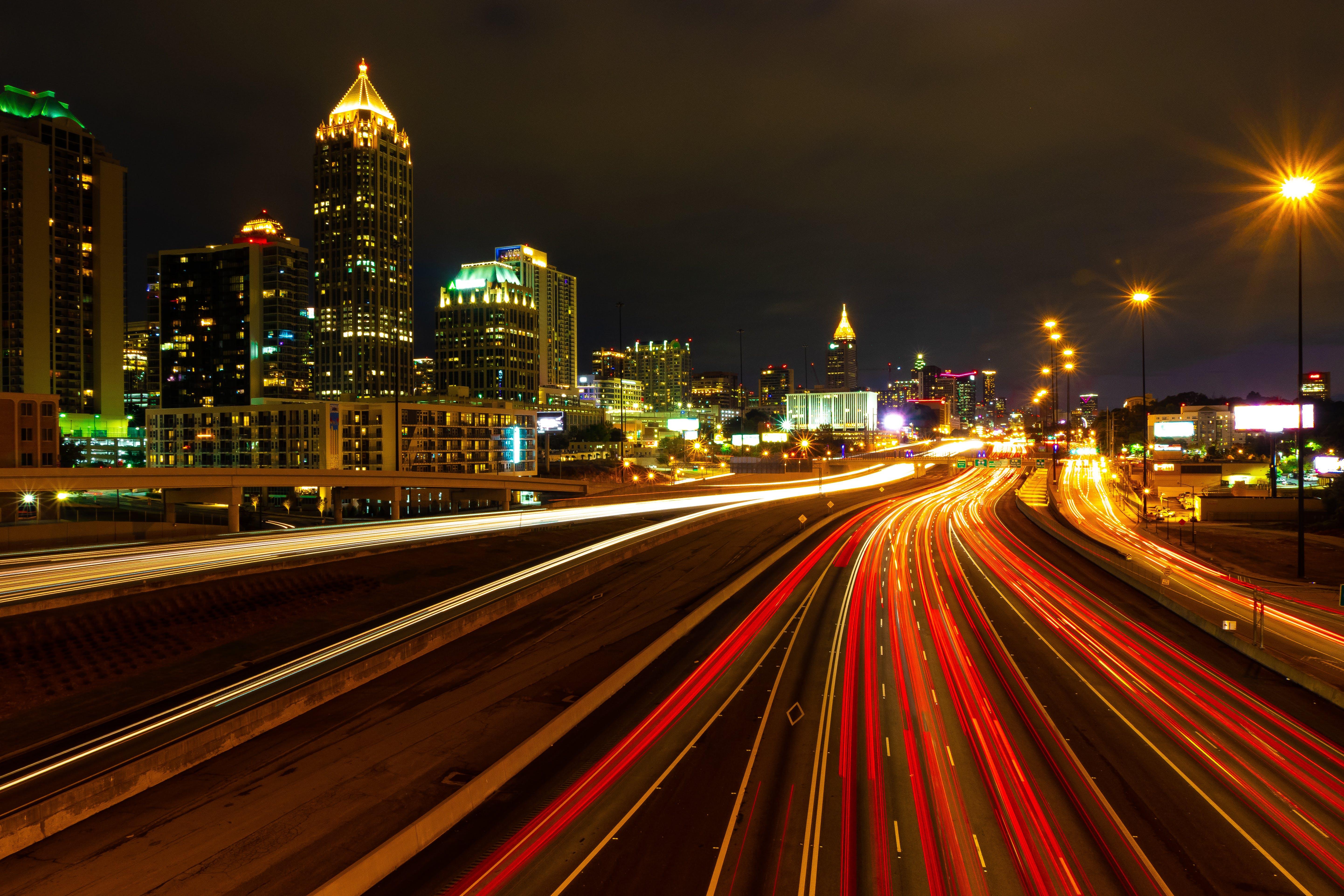 Free stock photo of atlanta, big city, city, city life
