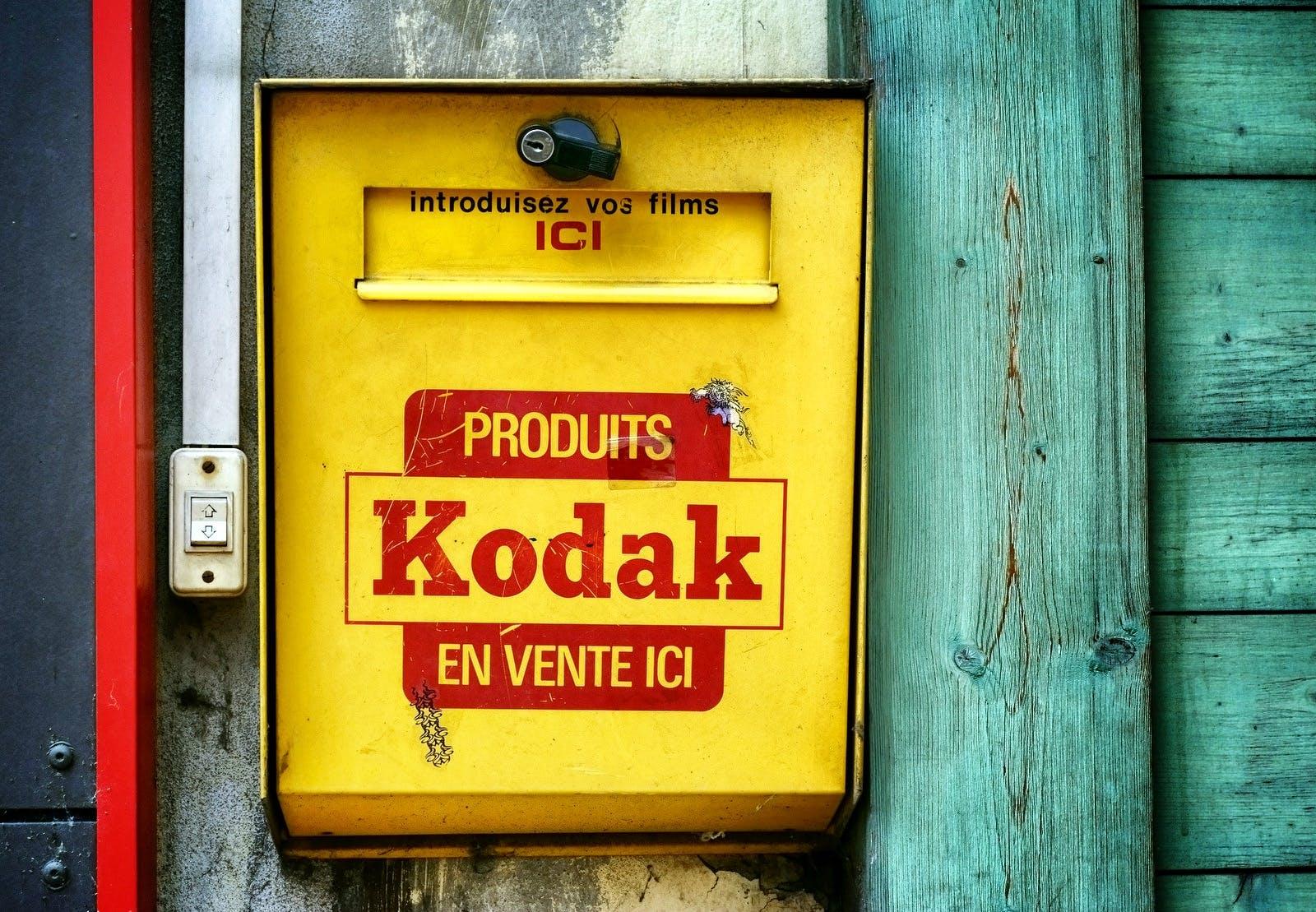 コダック, メールボックス, 木材の無料の写真素材