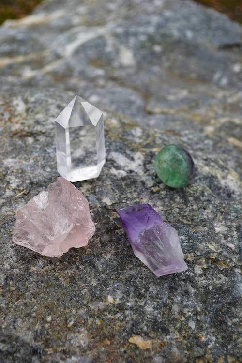 Free stock photo of amethyst, calcite, crystals, healing