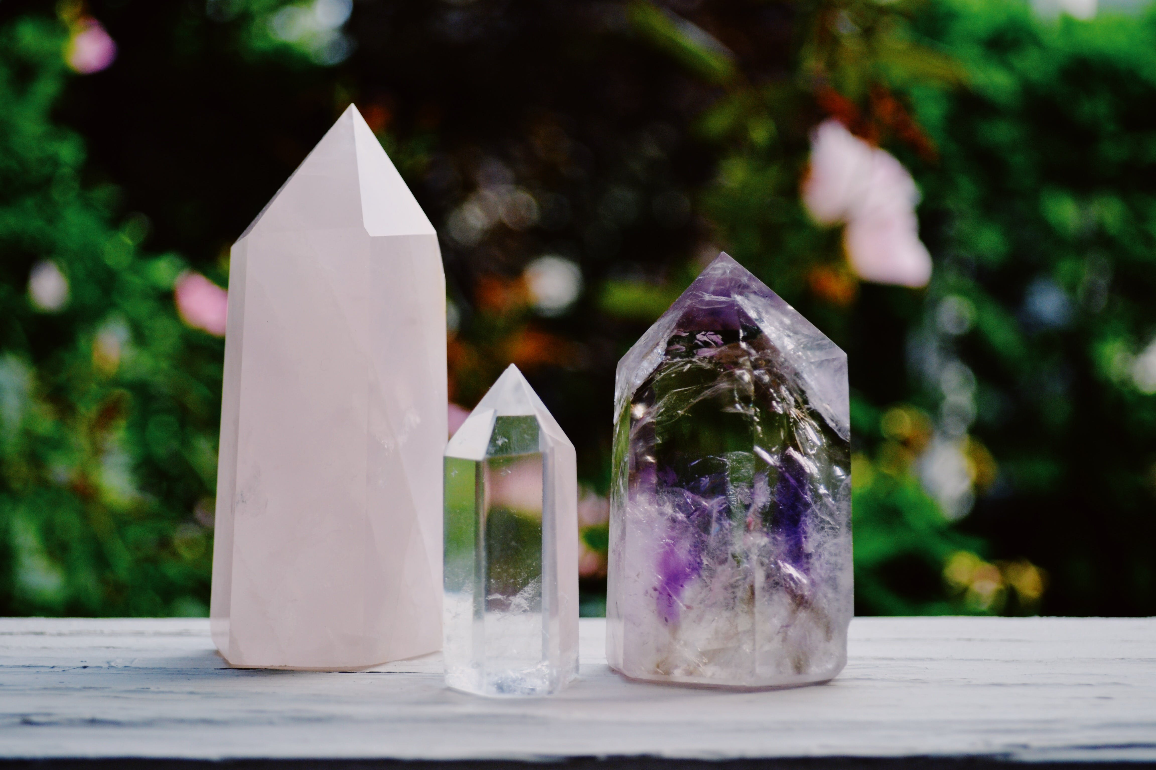 Clear Glass Figurines