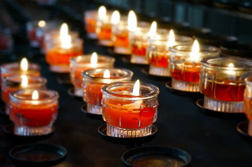 Close-Up Photo of Candles