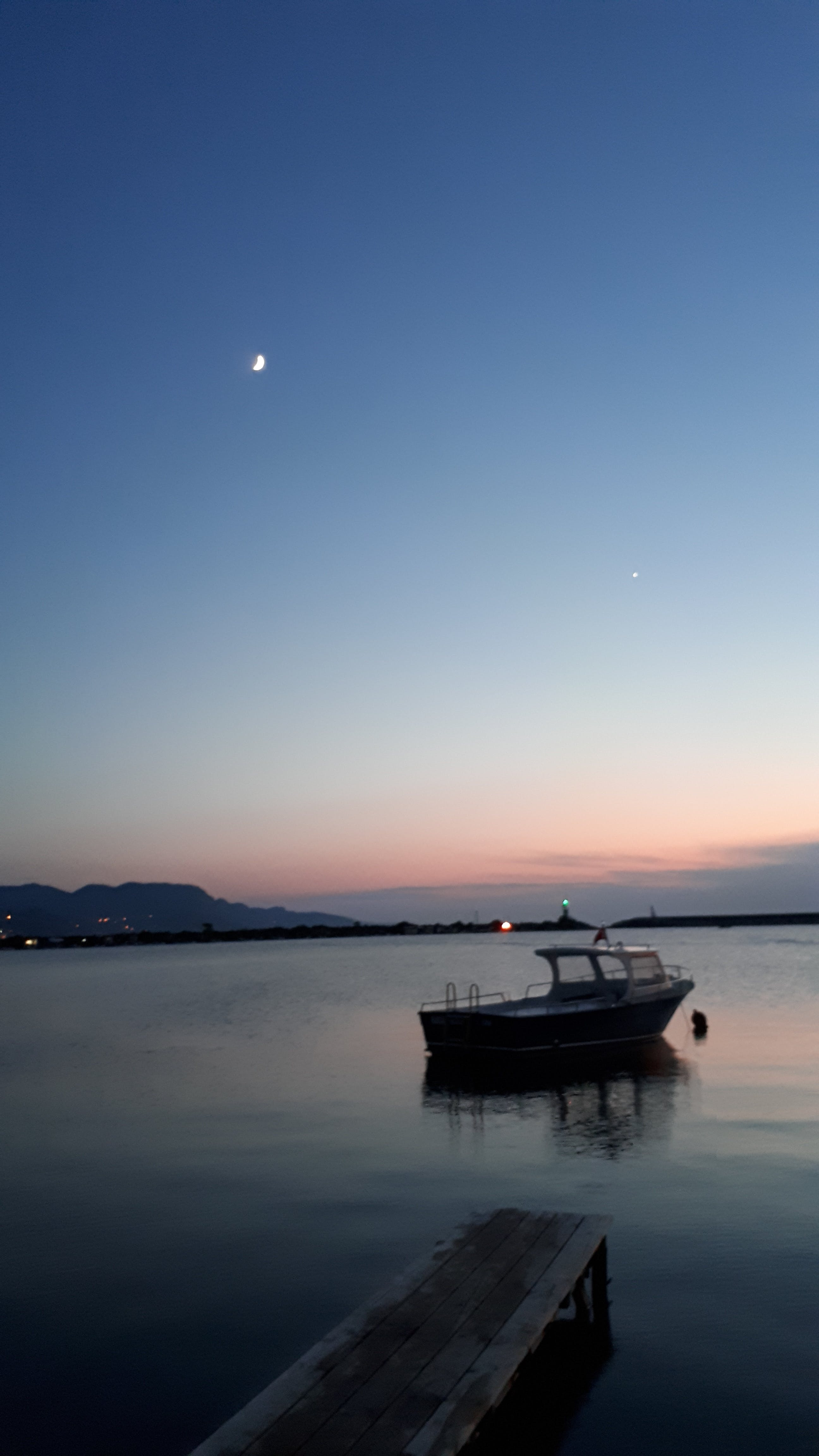 Free stock photo of boat, cide, night, port
