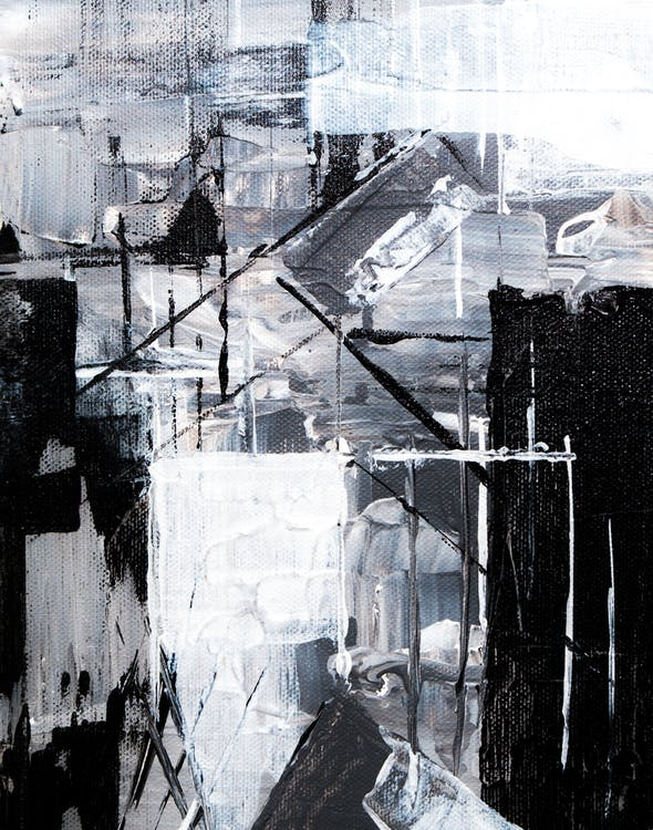 Абстрактная живопись, дизайн, живой цвет