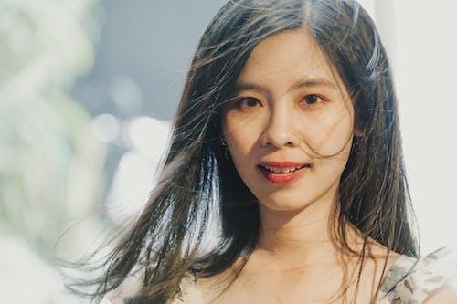 Бесплатное стоковое фото с азиатка, волос, выражение лица, девочка