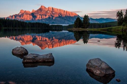 和平的, 場景, 壯觀, 山 的 免费素材照片