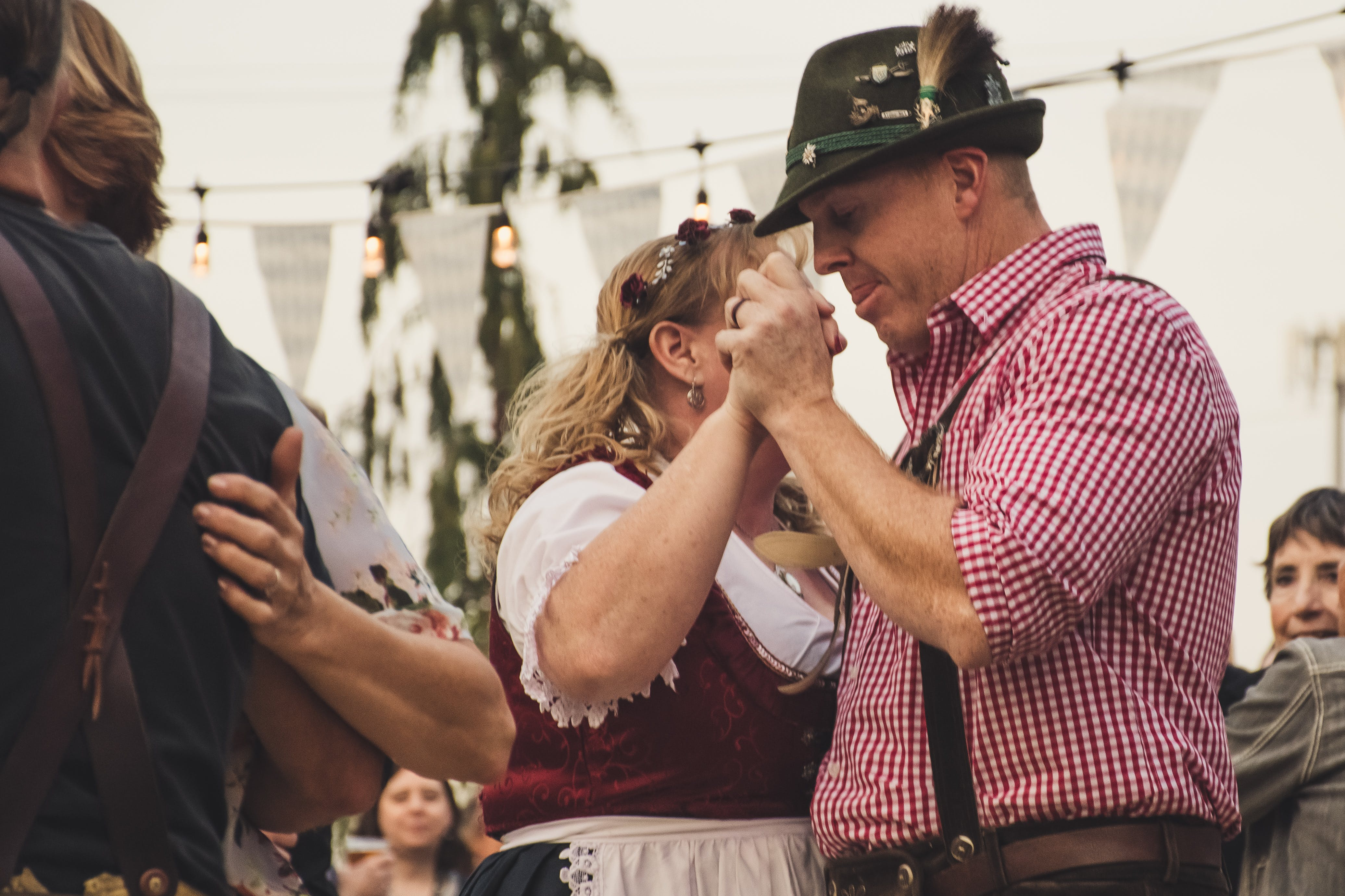 Group Of People Dancing Together