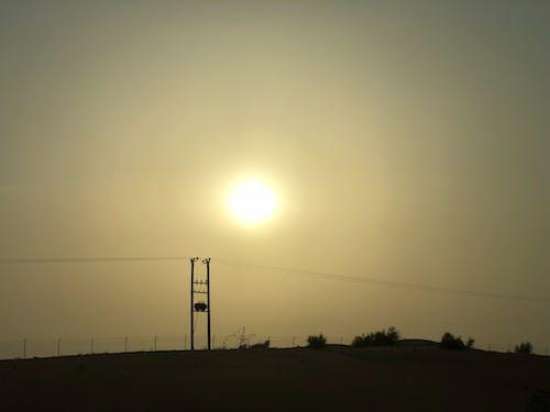 Free stock photo of desert, dubai, horizon