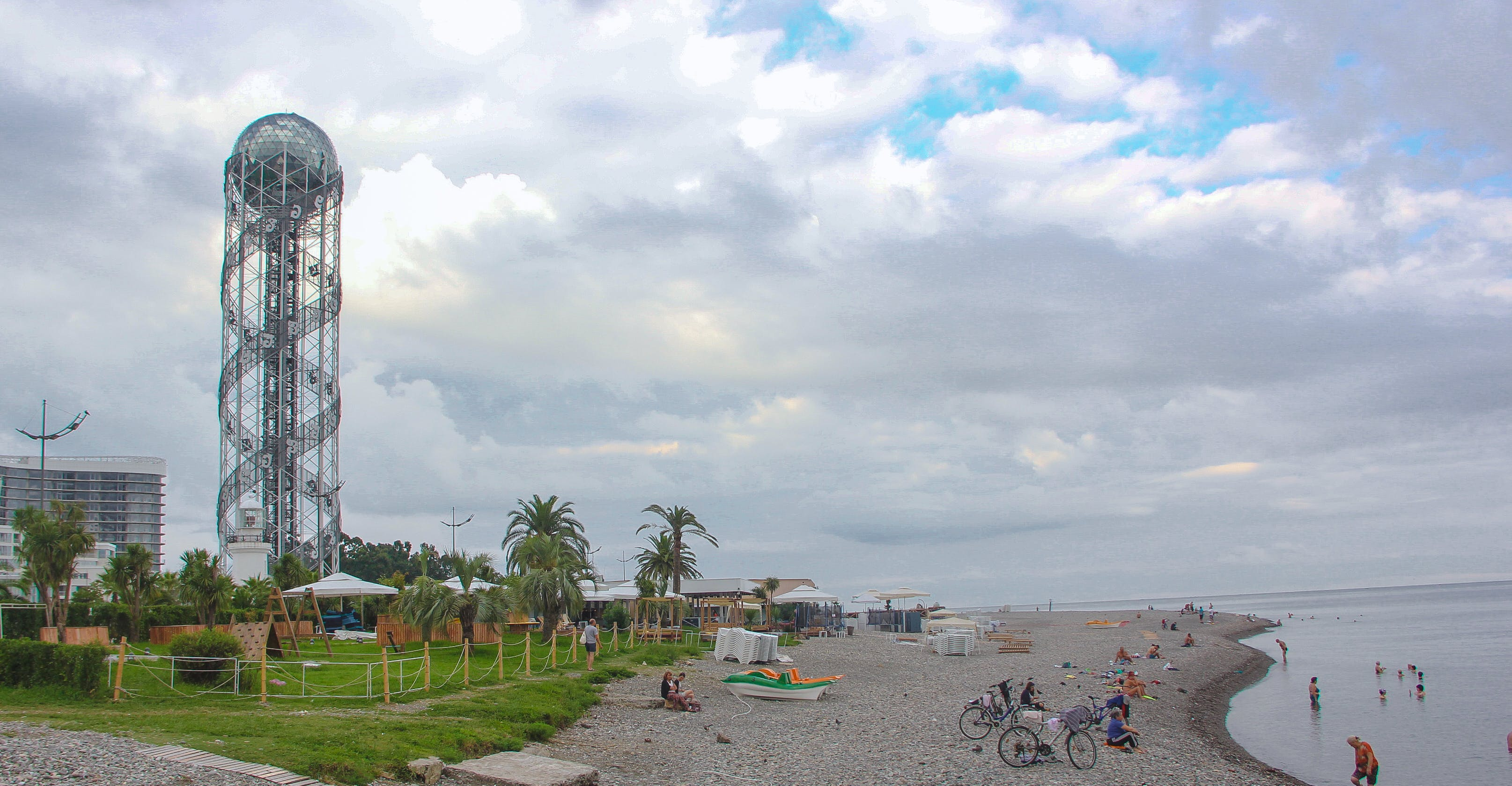 Free stock photo of Batumi, beach, calm, cloud