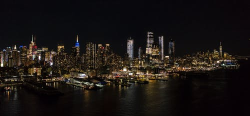 Imagine de stoc gratuită din luminile orașului, NYC, wallpaper new york