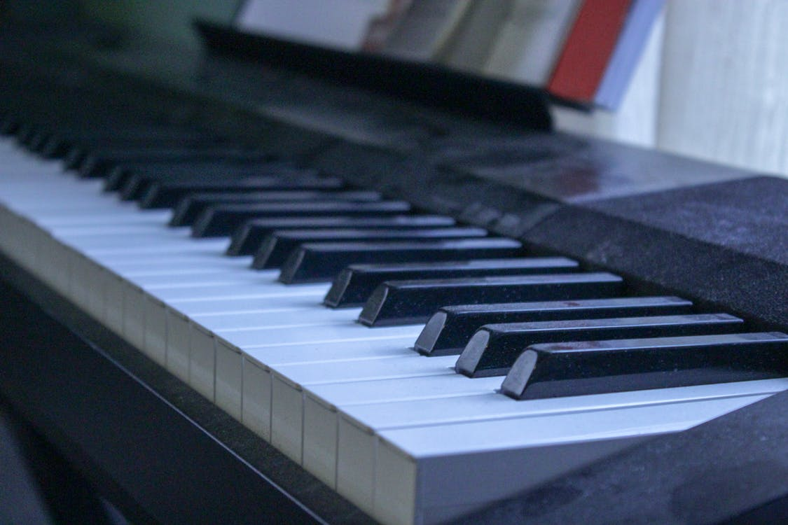 Free stock photo of dusty, keyboard, music