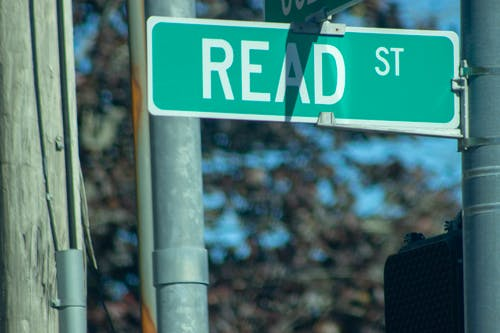 Free stock photo of education, intersection, read