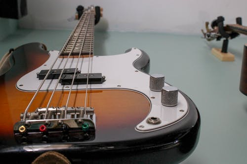 Free stock photo of bass, electric guitar, fender
