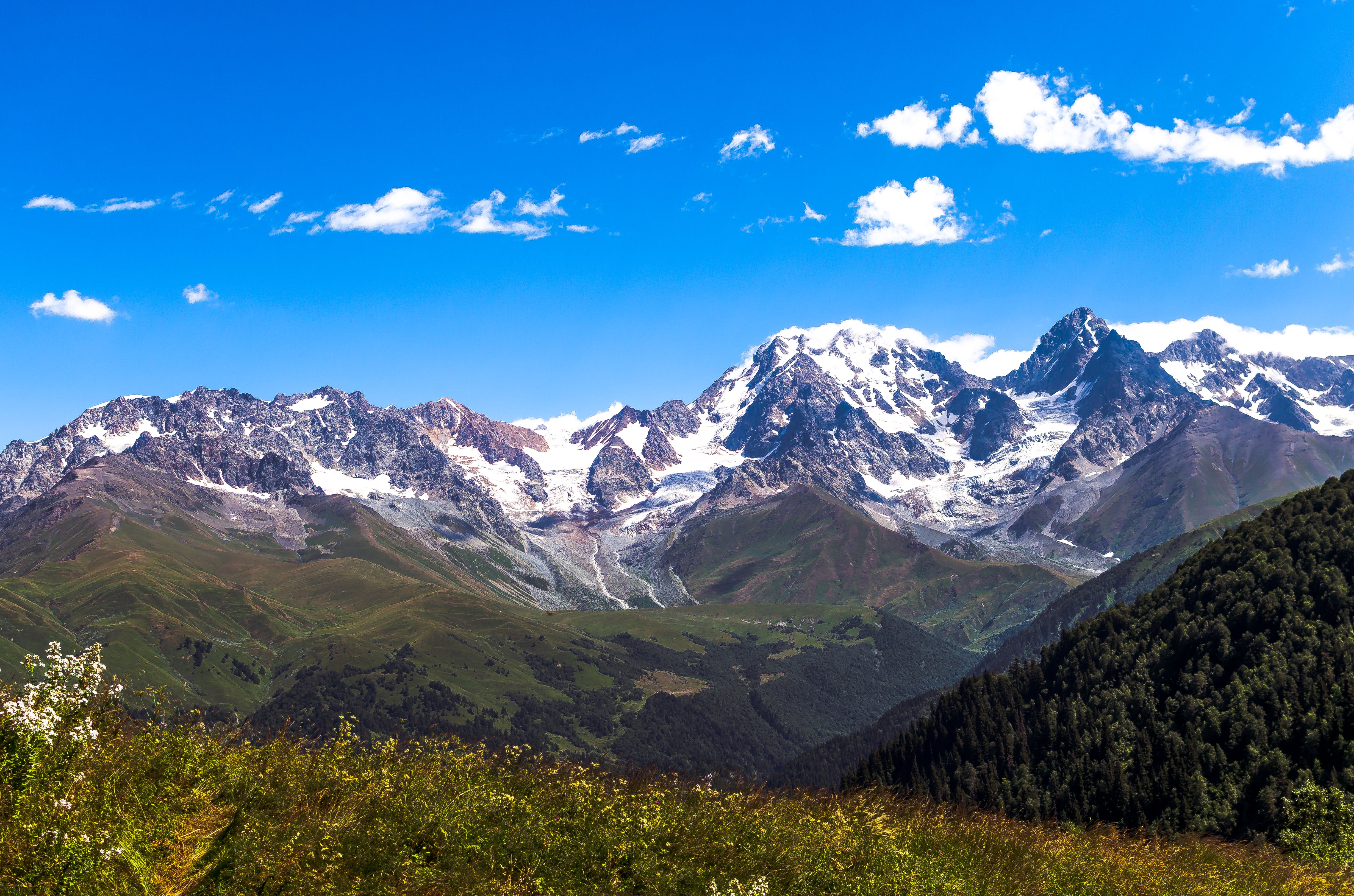 Free stock photo of alps, caucasus, Caucasus mountains, mountains