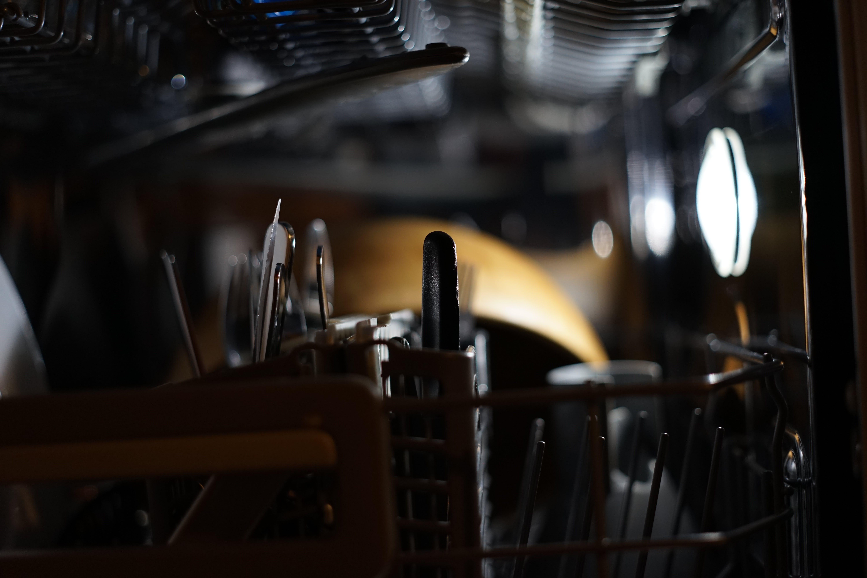 Free stock photo of dishes, machine, wash