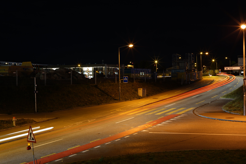 Free stock photo of dark, light, lightpainting, longlights