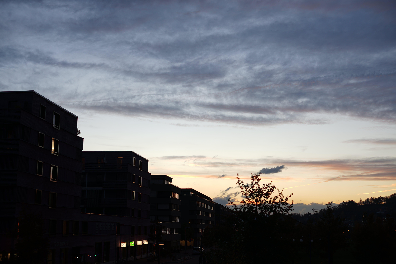 Free stock photo of cloud, nature, night, plane