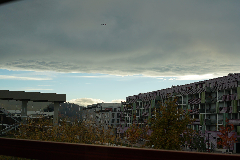 Free stock photo of cloud, nature, plane, sky
