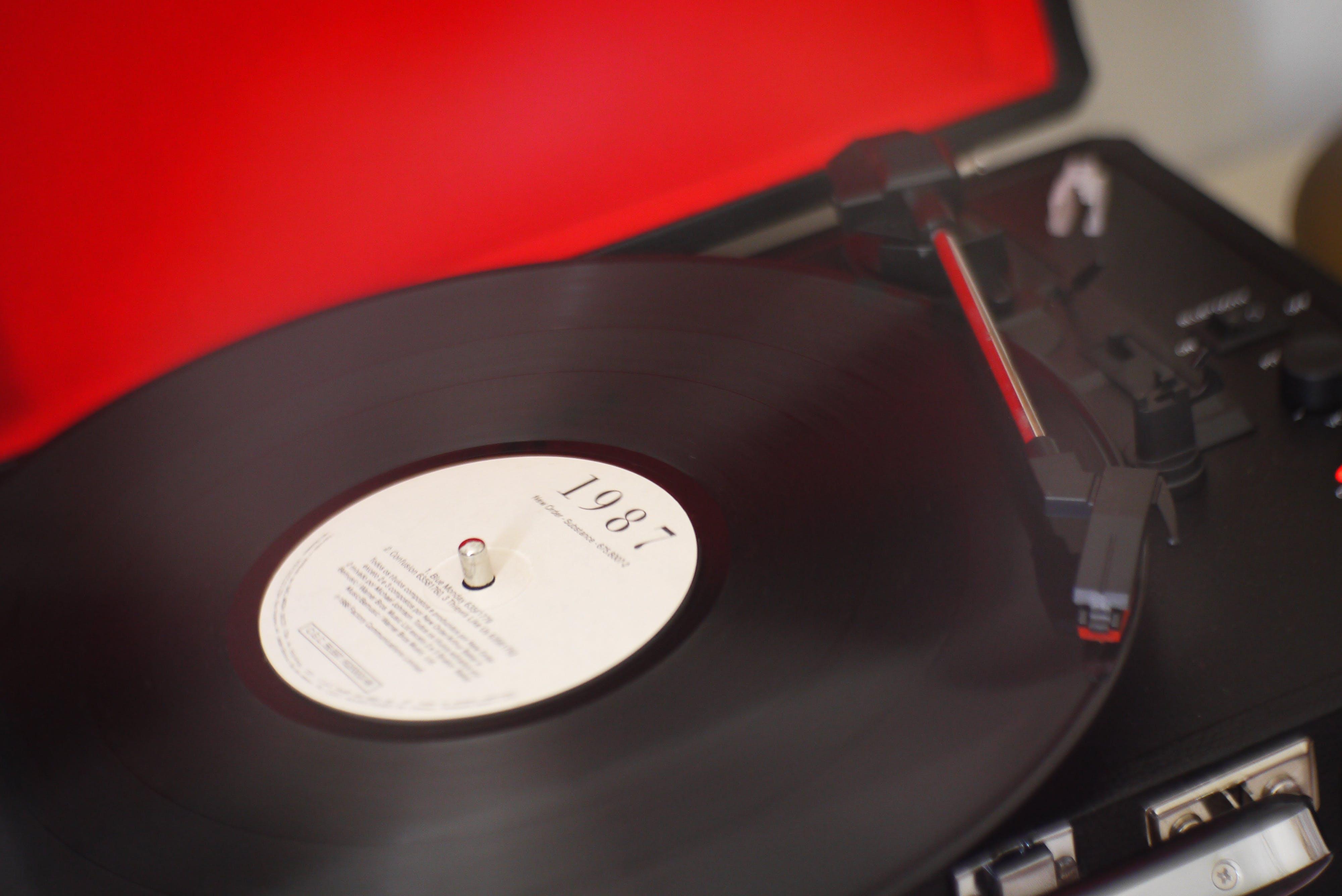 Free stock photo of disco, LP, music, new order