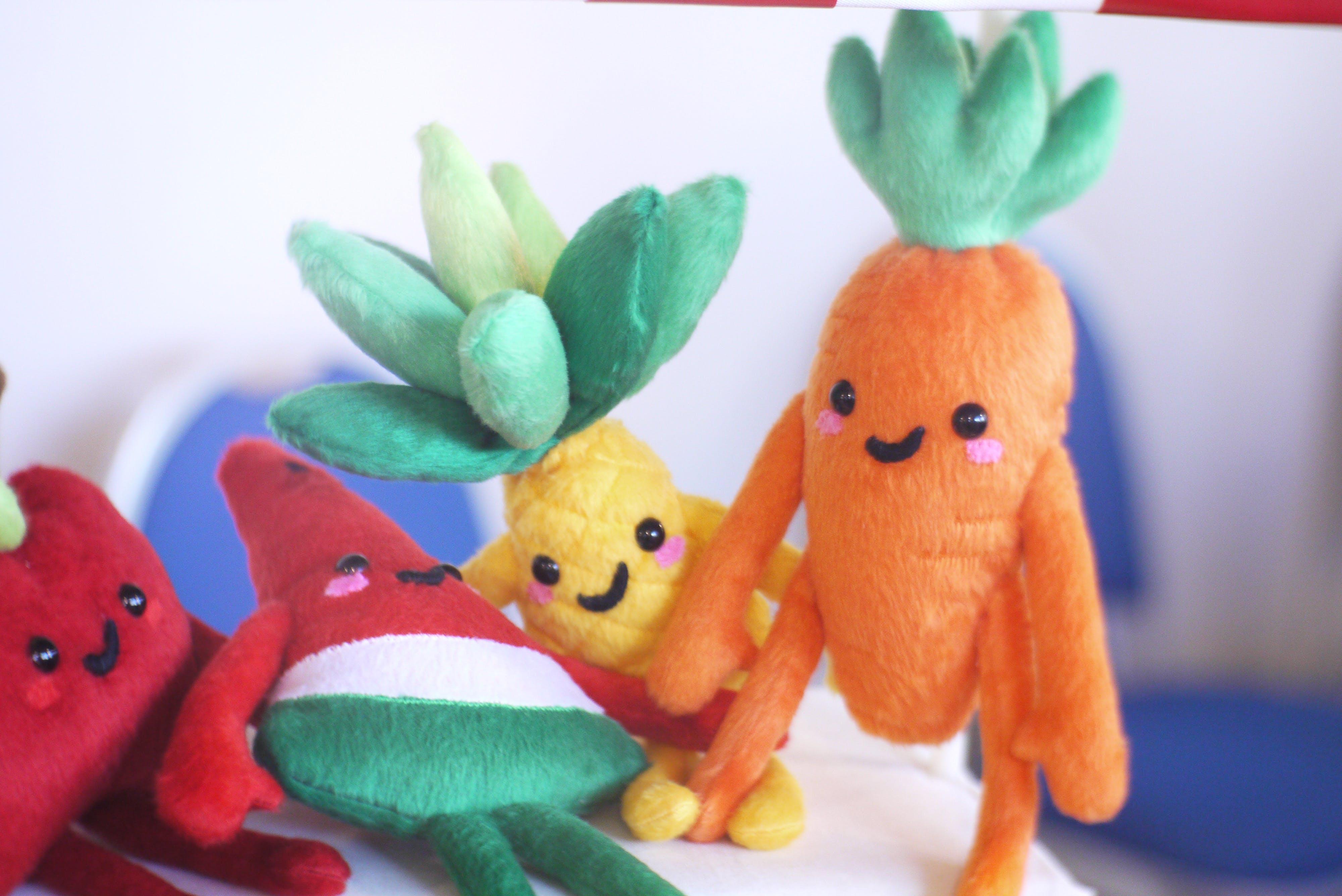Free stock photo of baby toy, children, children toys, fruit
