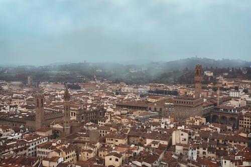 Immagine gratuita di cittadina, da sopra, edifici, europa