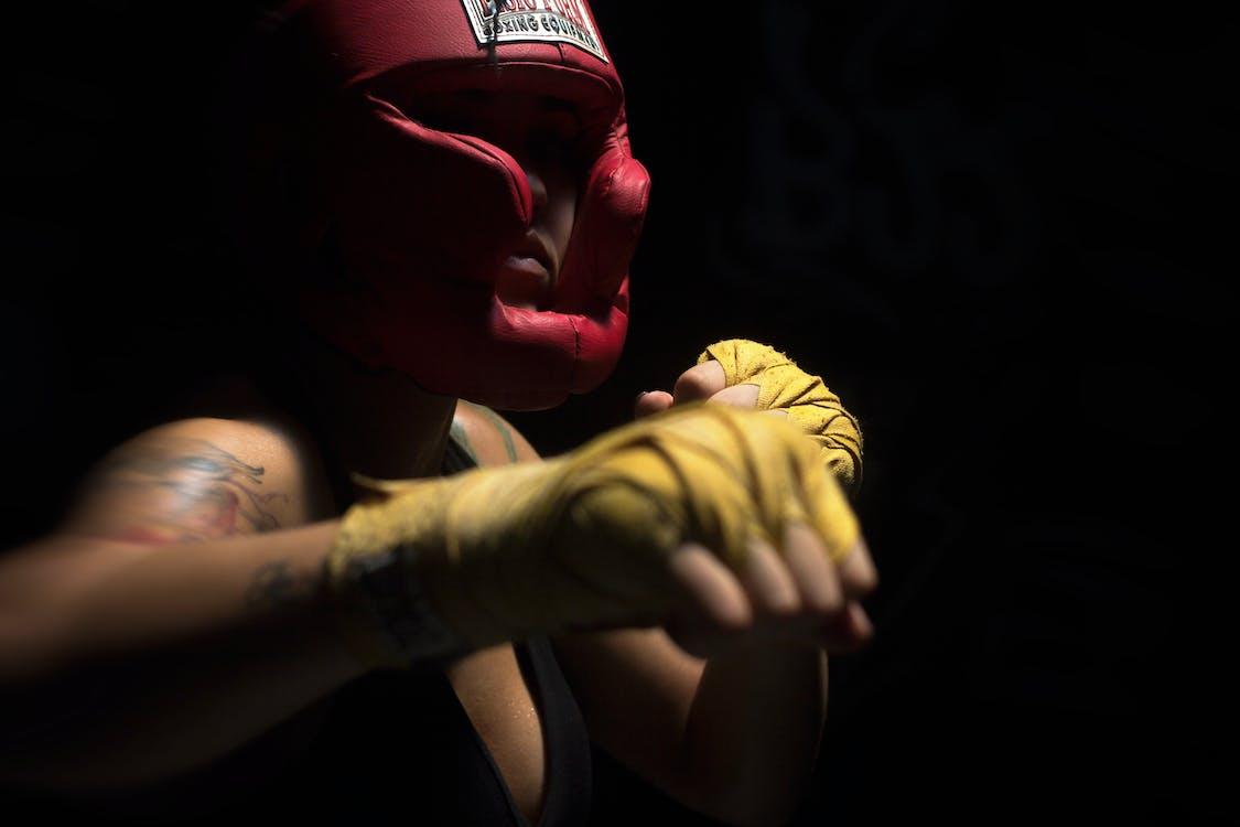 antrenament, atlet, box