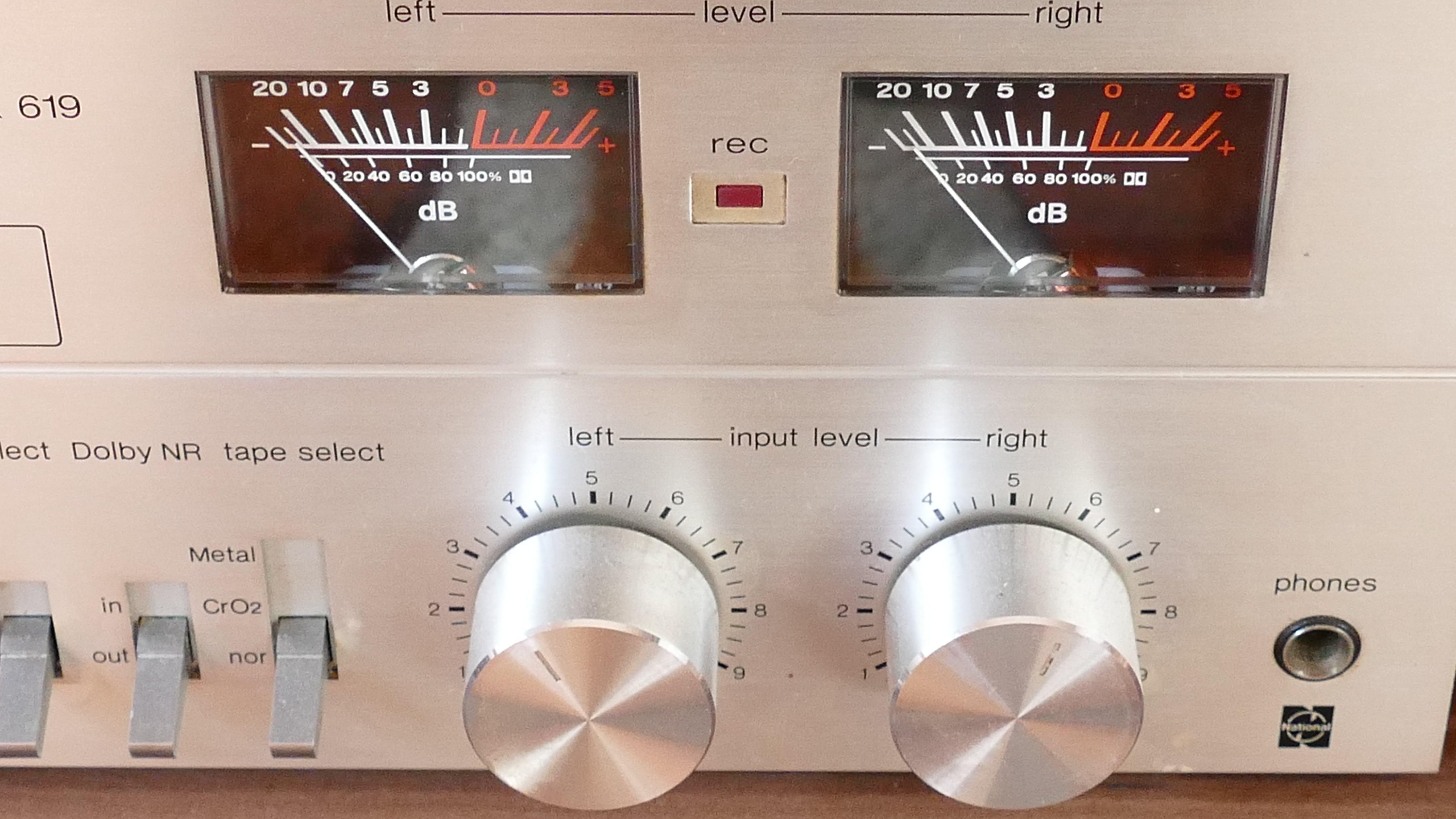 White Audio Balancer Device