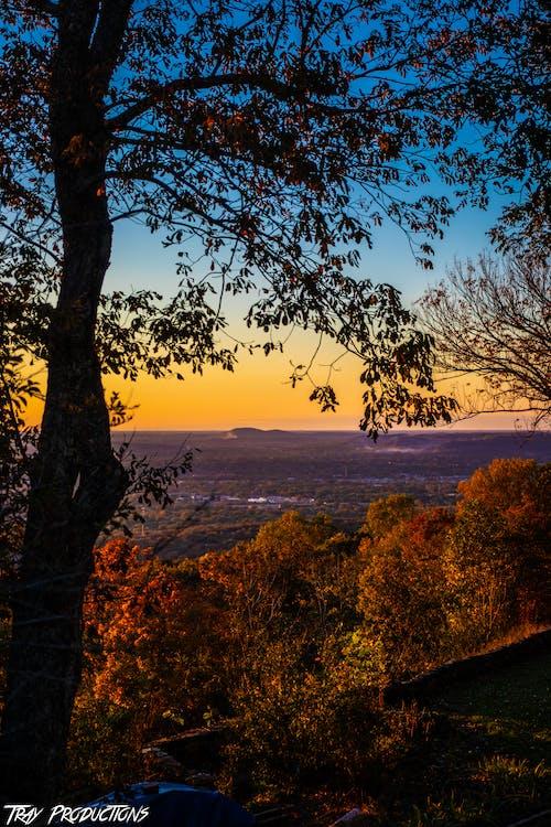 Alabama, farby jesene, fotografovanie krajiny