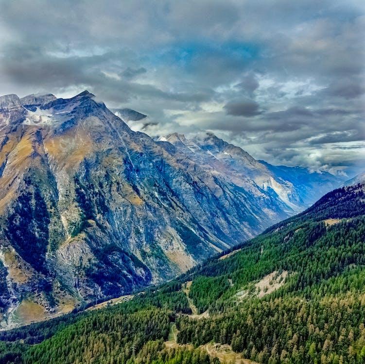 Free stock photo of dji, mountains