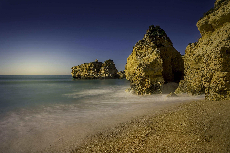 Photo of Seashore During Dusk