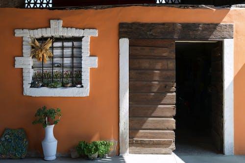 Základová fotografie zdarma na téma architektura, budova, dveře, vchod