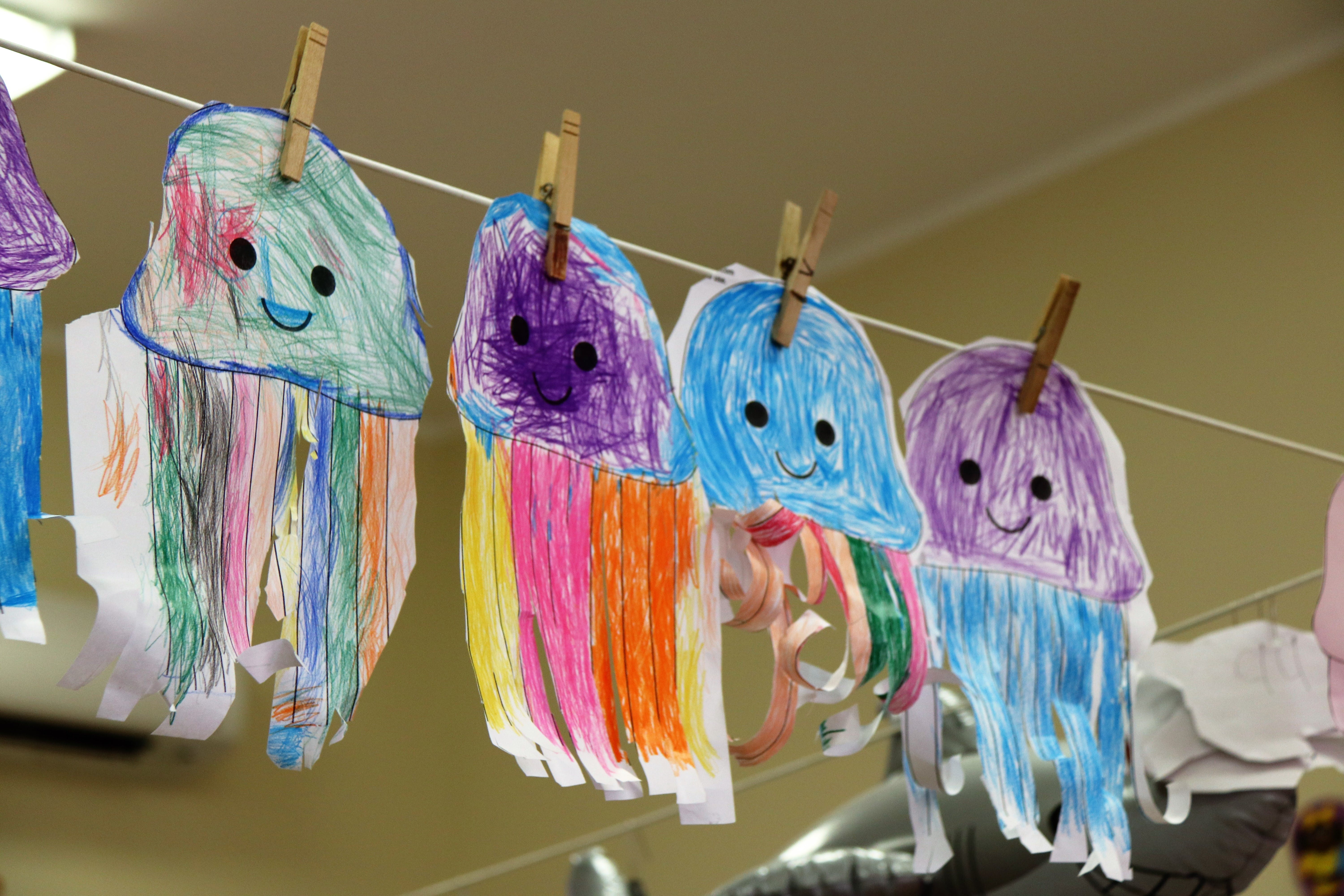 Free stock photo of Children crafts, Children drawings, classroom