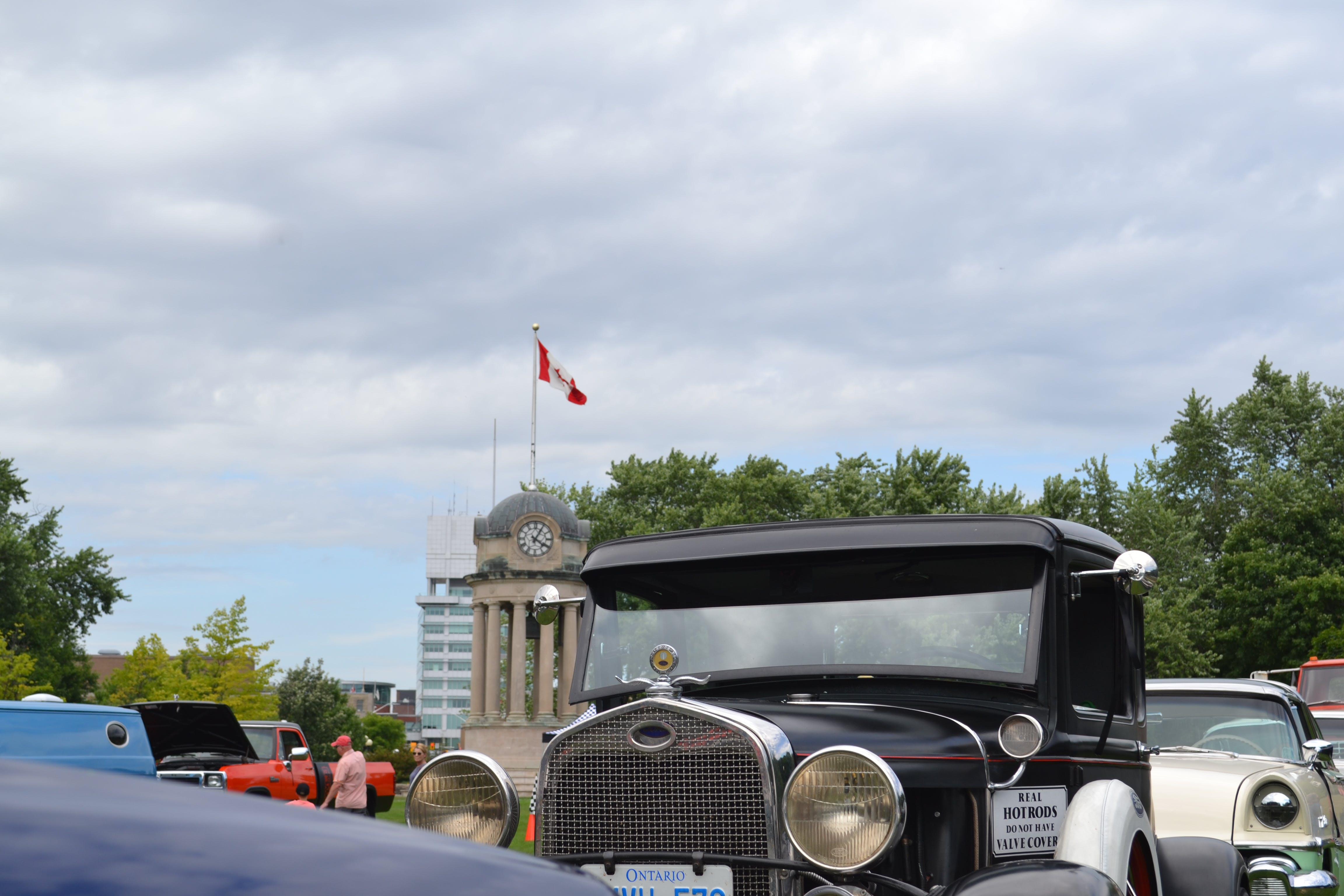Free stock photo of car show, classic car, kitchener, Victoria Park