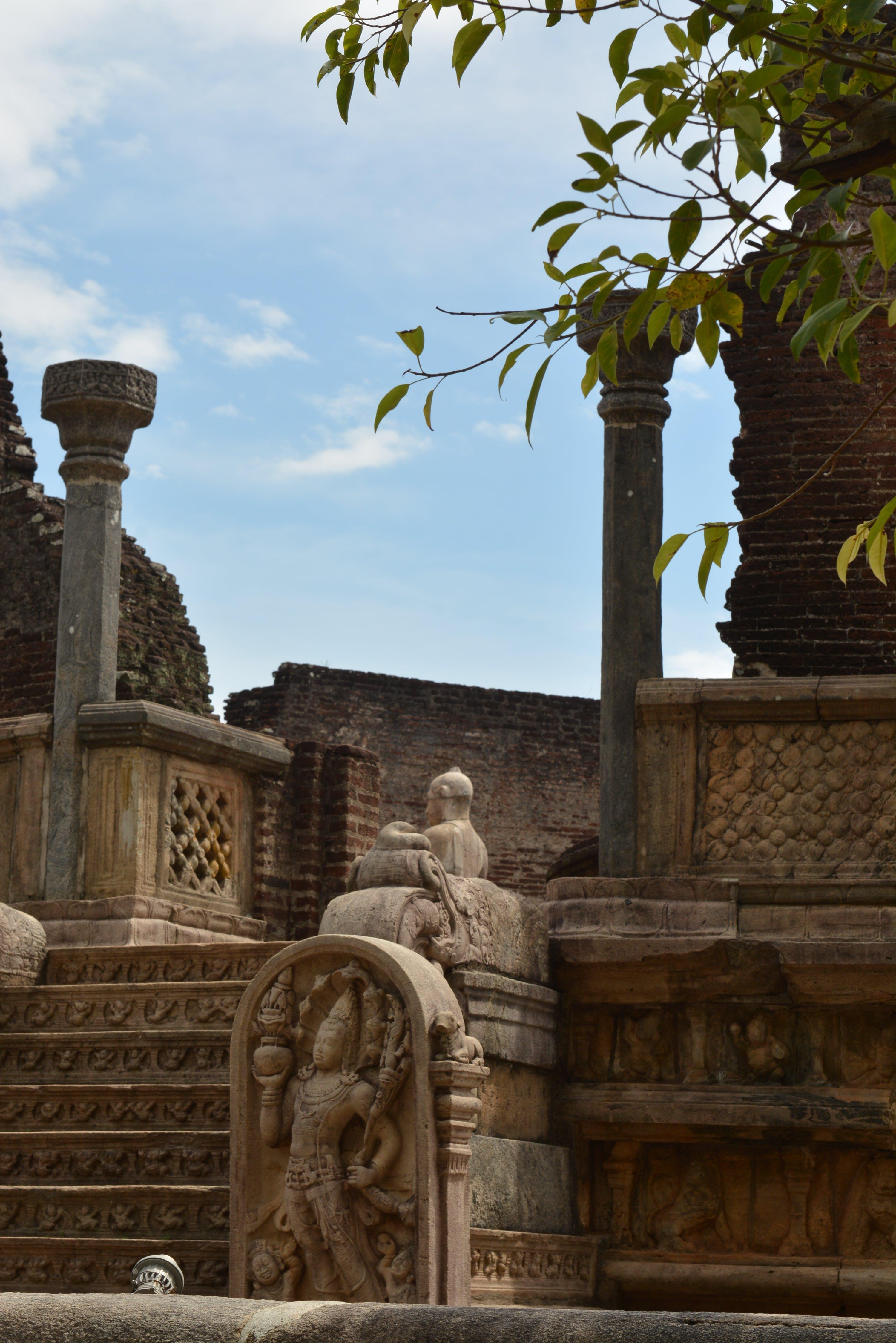 Free stock photo of historical, polonnaruwa, sri, sri lanka