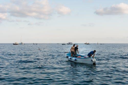 교통체계, 구름, 물, 바다의 무료 스톡 사진