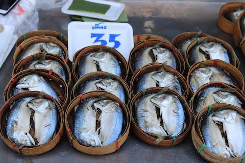 Gratis lagerfoto af fisk, fisk og skaldyr, tørret fisk, 干 鱼