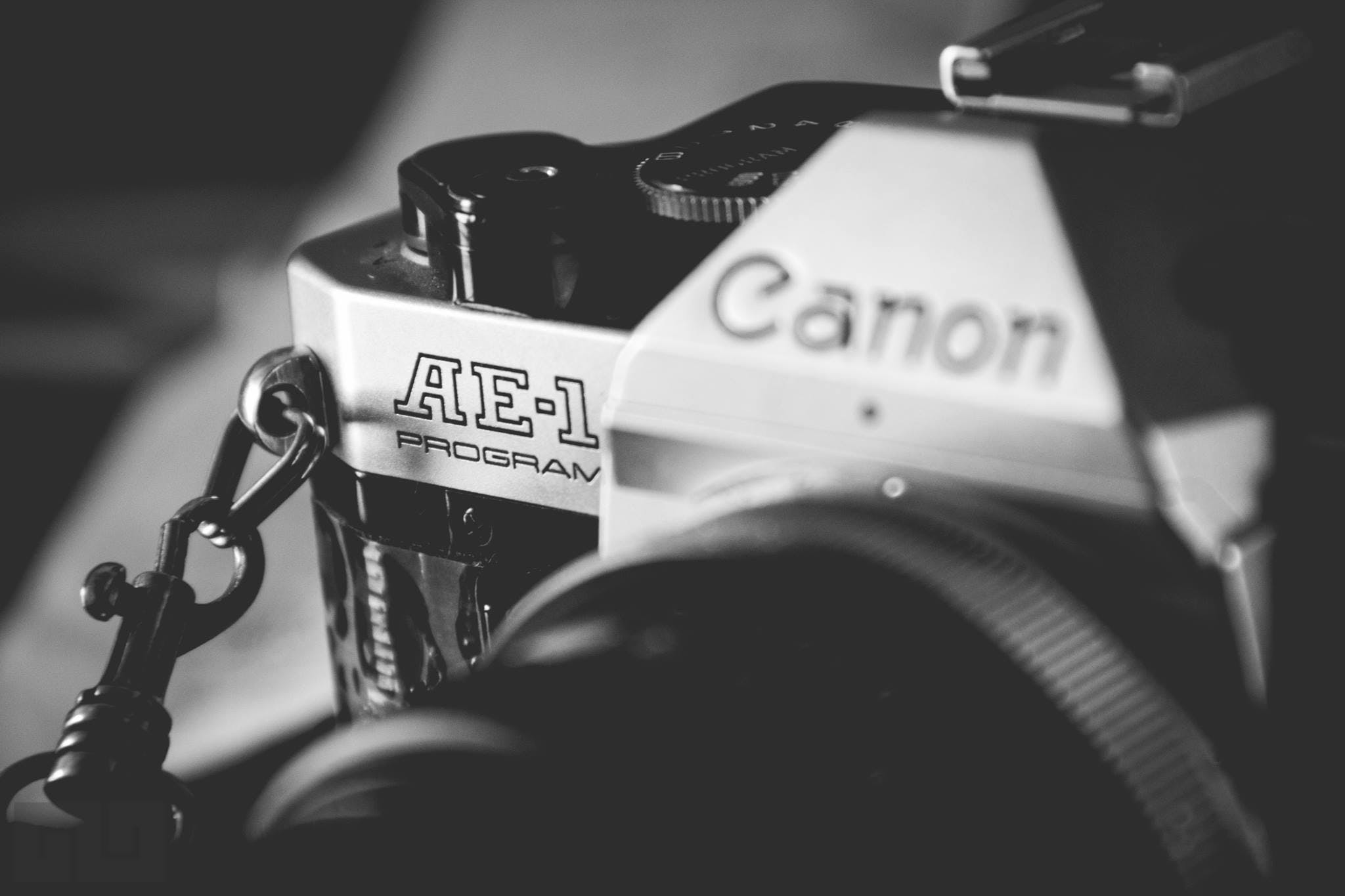 Free stock photo of 35mm, black-and-white, canon, canon ae-1