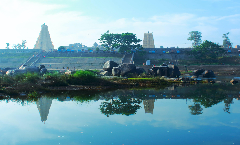 Δωρεάν στοκ φωτογραφιών με hampi, karnataka, unesco, αντανάκλαση